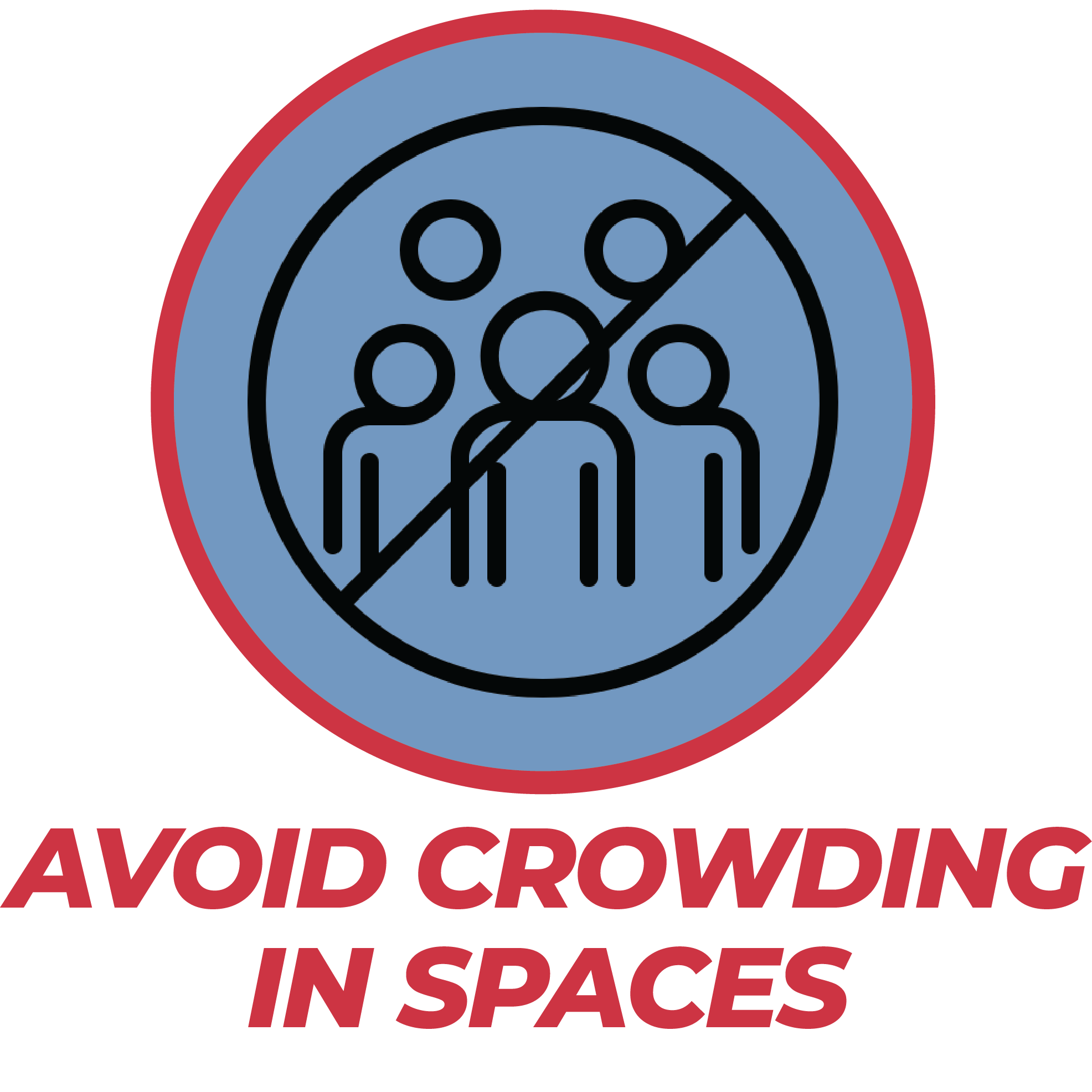 Avoid Crowding in Spaces