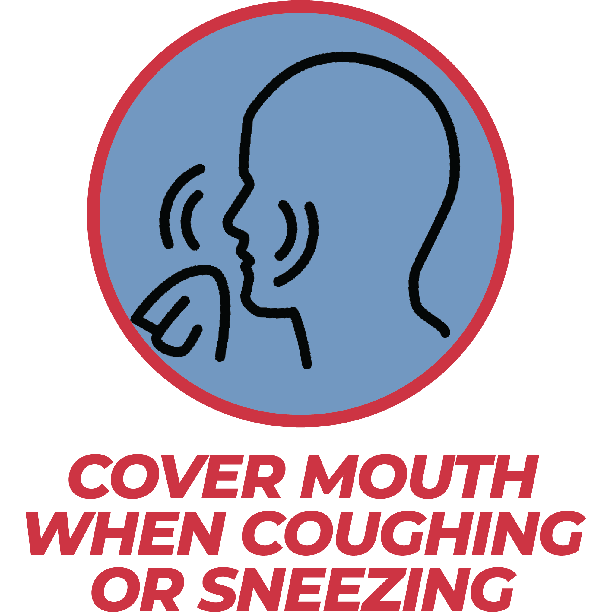 Cover Mouth When Coughing of Sneezing